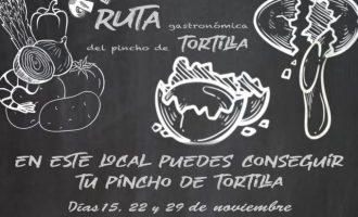 Nace una nueva iniciativa gastronómica en l'Alcora: la ruta del pincho de tortilla