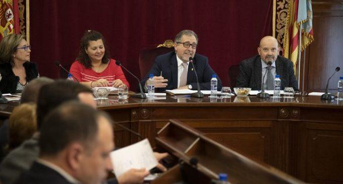 El primer pressupost de la Diputació del canvi s'aprova sense vots en contra
