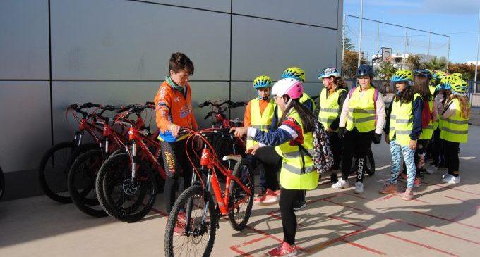 Vila-real se suma al projecte Aula ciclista, amb el col·legi José Soriano