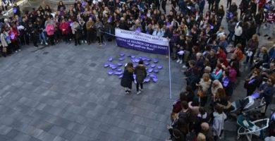 La província de Castelló es mobilitza per commemorar el 25-N