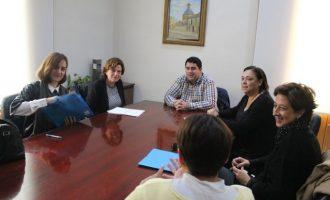 Nules presenta el seu programa 'Supera't' a la directora d'Acció Comunitària i Barris Inclusius
