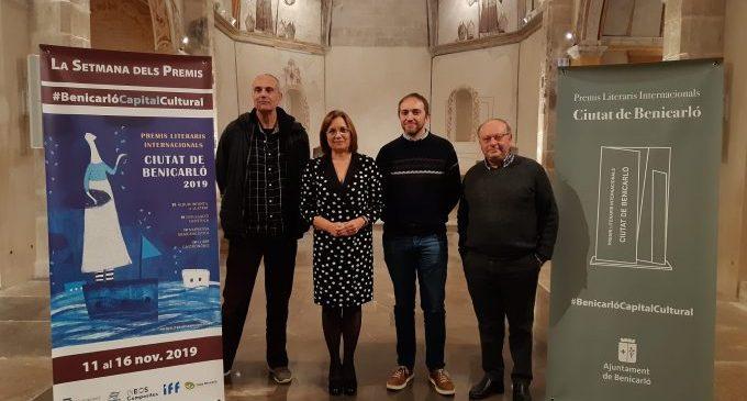 Un palmarés de luxe per als Premis Literaris Ciutat de Benicarló 2019