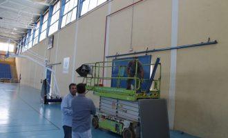 Benicàssim renova la lluerna del Poliesportiu Municipal