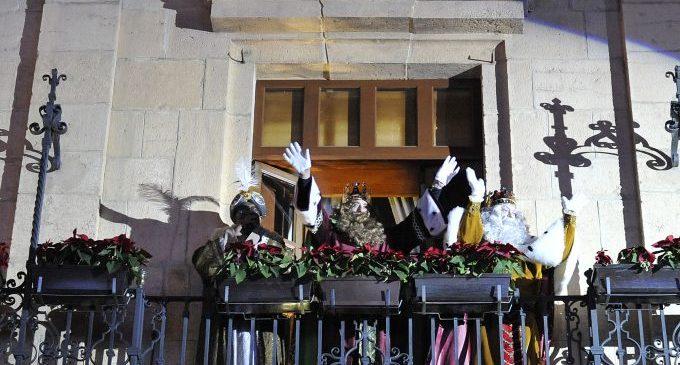 Tot preparat per a l'arribada dels Reis Mags a Castelló