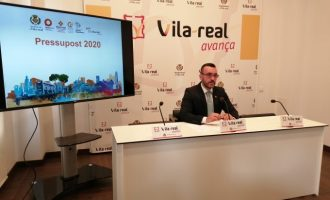 Benlloch presenta els pressupostos 2020 per a Vila-real