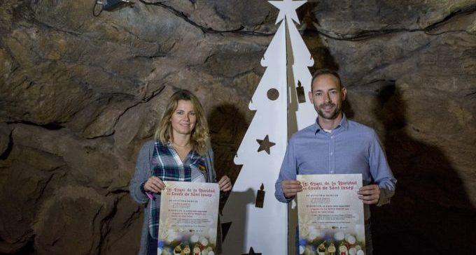 La Vall d'Uixó presenta la campanya de Nadal de les Coves de Sant Josep