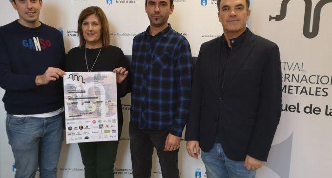 La Vall d'Uixó acull l'I Festival Internacional de Metalls Miguel de la Font