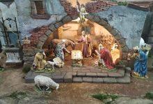 Sant Blai rep la campana i el betlem per Nadal a Borriana