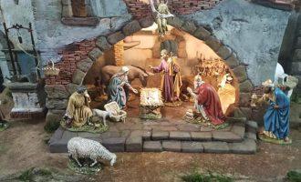 Sant Blai recibe la campana y el belén para Navidad en Borriana