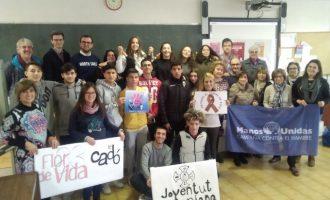 Éxito del I Mercado Solidario Navideño de Fundación Flors de Vila-real
