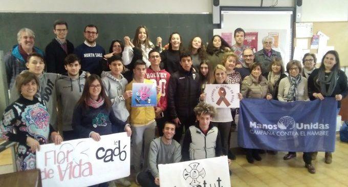 Èxit de l'I Mercat Solidari Nadalenc de Fundació Flors de Vila-real