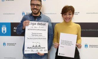L'Ajuntament de la Vall d'Uixó presenta la 3a edició de la Lliga Debat