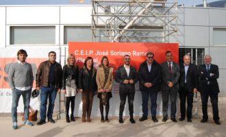 Vila-real soluciona les deficiències del sostre del col·legi José Soriano