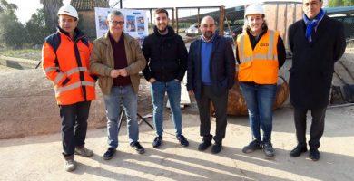 L'Ajuntament millora la conducció d'aigües residuals de la depuradora i reasfalta el Camí Fondo