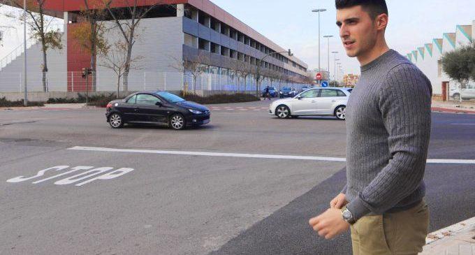 Castelló mejora la seguridad vial con una rotonda entre Enrique Gimeno y Ribesalbes