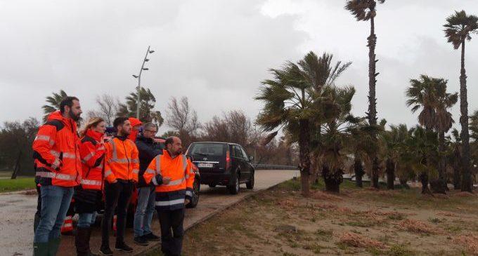 Castelló remet al Govern l'informe de danys del temporal Gloria per a optar a les ajudes