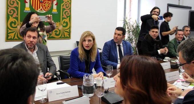 L'alcaldessa de Castelló defensa a la FEMP mesures urgents per a pal·liar els danys del temporal Gloria