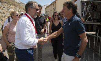 La Diputació de Castelló fitxa a Pedro Delgado com a ambaixador de 'Castelló Destinació Cicloturista'