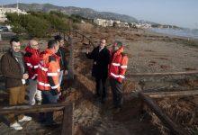 Martí agraeix al Consorci de Bombers la resposta al temporal