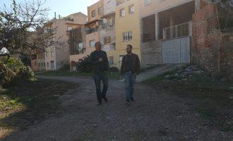 L'Ajuntament de la Vall d'Uixó neteja el barranc de l'Horteta per a enjardinar-lo i crear una zona de pas