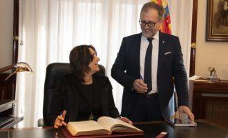 Diputació i Conselleria reforçaran la cooperació mútua per a impulsar les exhumacions i defensar la Memòria Democràtica a Castelló
