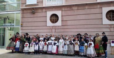 La Dansa i el Bureo protagonitzen les festes de Sant Antoni de Borriana