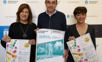 La Vall d'Uixó celebrarà el Dia de la Pau amb un ampli ventall d'activitats