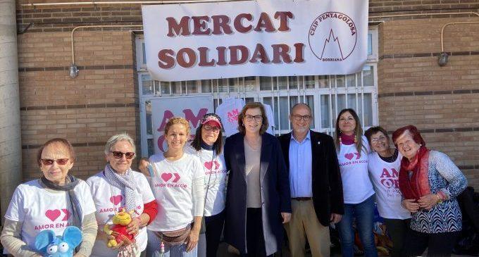 Els col·legis de Borriana mostren la seua solidaritat a través de diferents projectes benèfics