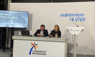 """Safont reivindica Borriana com a """"terra de cultura"""" en Fitur"""