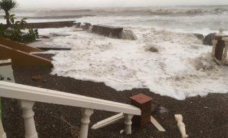 Nules insisteix en actuar urgentement en el litoral sud per la borrasca Gloria