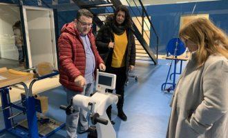 La diputada Patricia Puerta visita les noves instal·lacions de Cocemfe, subvencionades amb 100.000 euros per la Diputació