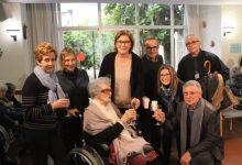 Borriana homenatja Mercedes Fayos Carbó en el seu 100 aniversari