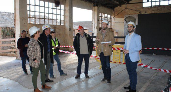Comença la rehabilitació de l'edifici dels forns àrabs de la Reial Fàbrica de l'Alcora