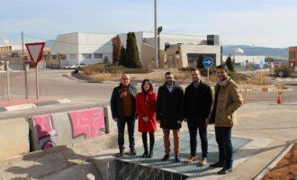 La secretària autonòmica d'Economia Sostenible visita les obres de modernització dels polígons industrials de l'Alcora