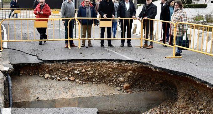 Martí agraeix als presidents Sánchez i Puig l'activació d'ajudes pel temporal