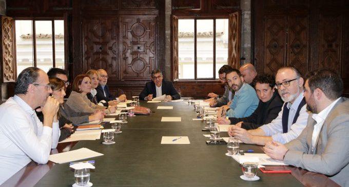 La Diputación participa en la reunión del Fondo de Cooperación para acelerar ayudas
