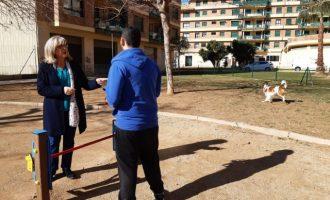 Finalitzen les obres del parc caní del carrer de Mariano Miquel i Polo