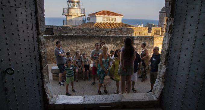 El Castell de Peníscola reobri les seues portes aquest dijous