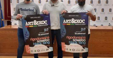 Soweto, Rigodonians i Black Fang protagonitzen el cartell de l'Art&Xoc de la Festa de la Carxofa de Benicarló