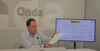 Onda denuncia que la Generalitat segueix sense pagar els 212.000 euros del Fons de Cooperació Municipal