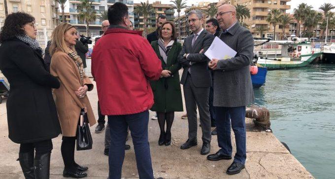 La Generalitat Valenciana millorarà la integració del port de Benicarló amb la ciutat