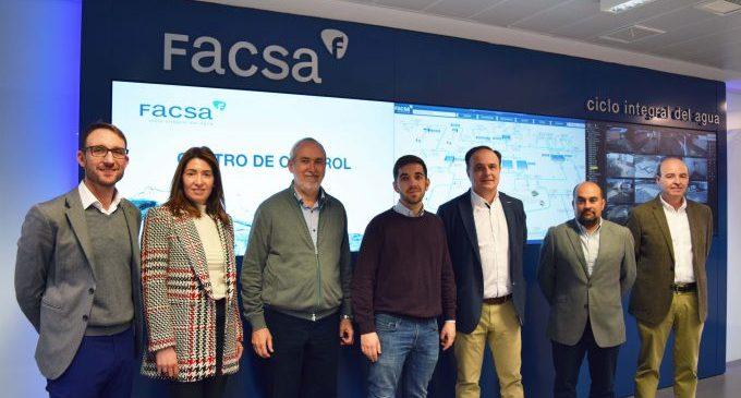 L'Ajuntament i FACSA posen en comú les principals línies de treball per a potenciar la gestió intel·ligent i sostenible de l'aigua
