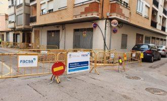 L'Ajuntament de Nules i FACSA renoven la xarxa d'aigua potable en Sant Vicent