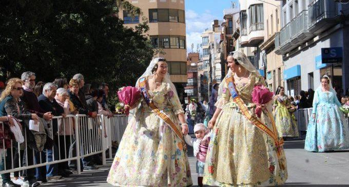 Borriana celebra el Dia de les Dones i gaudeix de les falles, la cultura i l'esport aquest cap de setmana
