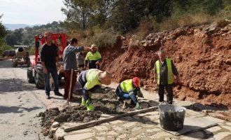 L'Ajuntament de la Vall d'Uixó millora tres camins rurals amb més de 40.000 euros d'inversió