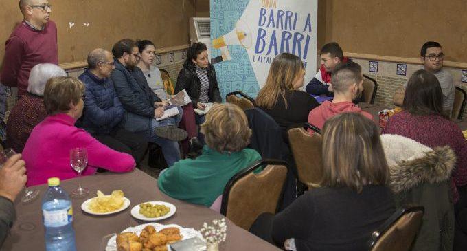 Ballester anuncia dues actuacions de més de 90.000 euros per a millorar el barri Vila-real i adjacents amb el pla #OndaBonica