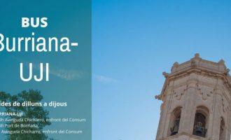 Borriana i Almassora comptaran amb bus propi a l'UJI a partir de març