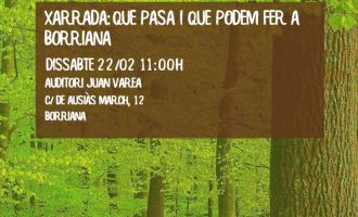 El AEB y el Ayuntamiento organizan la primera jornada de concienciación ambiental en Borriana