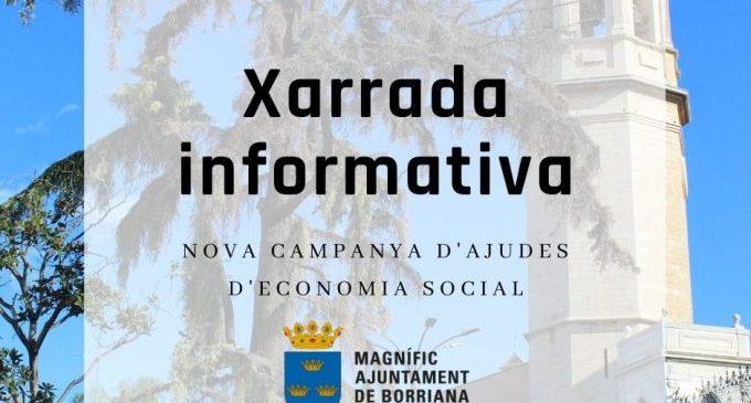 Borriana acull la nova campanya d'ajudes d'economia social