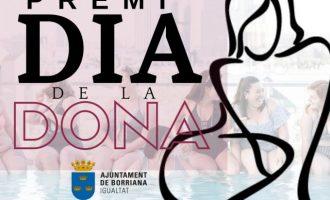 Burriana convoca los Premios 'Día de la Mujer'